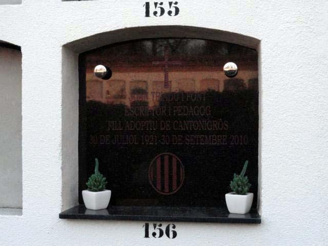 Joan Triadú Font Cantonigrós