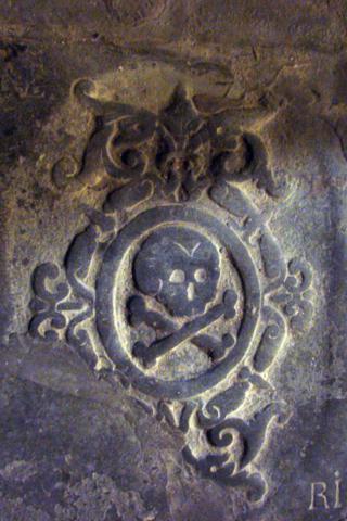 Llosa sepulcral  església de Sanaüja