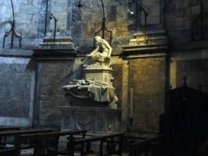Sant Feliu tomba Alvarez de Castro